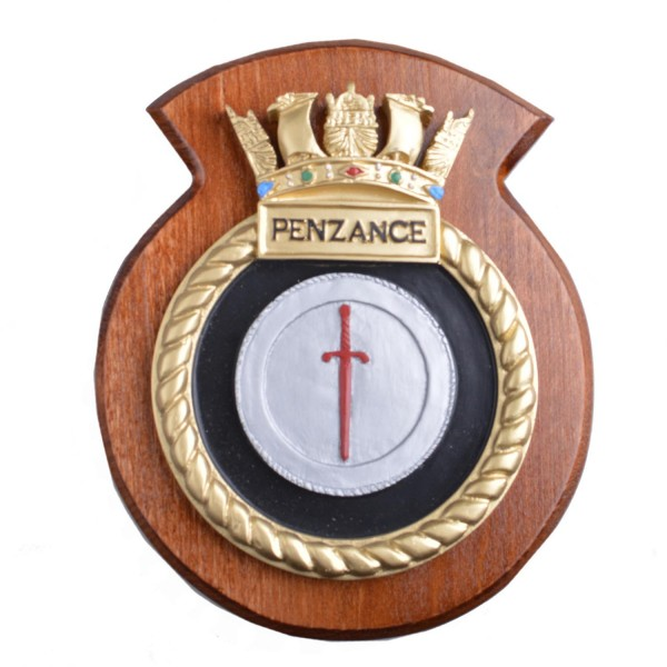 HMS Penzance - Ship Badge / Plaque / Crest