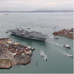 Queen to formally commission HMS Queen Elizabeth.