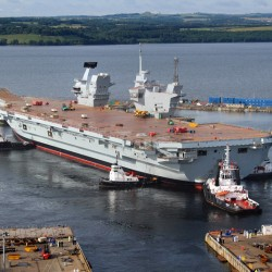 HMS Queen Elizabeth is ready for Sea trials.