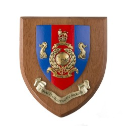 1 Assault Group Royal Marines - Ship Badge / Crest / Plaque