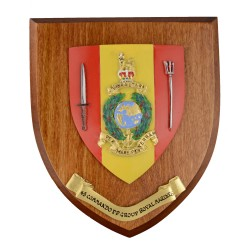 43 CDO FPG RM - 43 Commando Fleet Protection Group - Unit Badge / Crest / Plaque