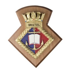 Bristol URNU - Bristol University Royal Naval Unit - Badge / Crest / Plaque