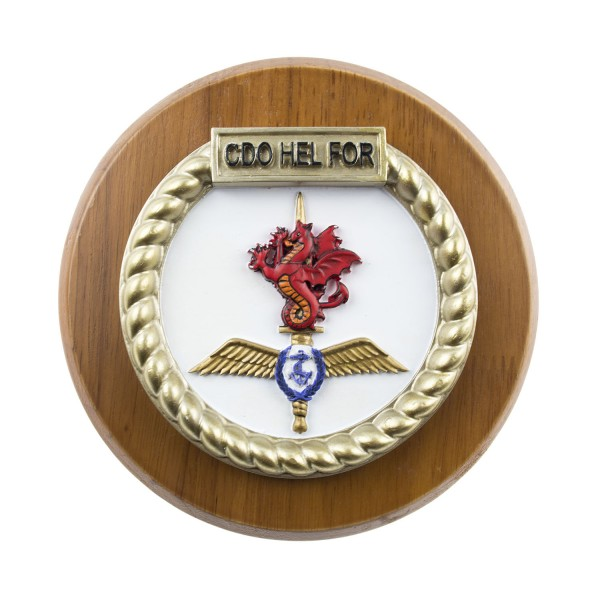 CDO HEL FOR - Commando Helicopter Force (CHF) - Unit Badge / Crest / Plaque