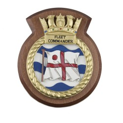 Fleet Commander - Unit/ Ship Badge / Crest / Plaque