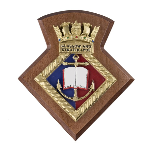 Glasgow and Strathclyde URNU - Glasgow and Strathclyde University Royal Naval Unit - Badge / Crest / Plaque