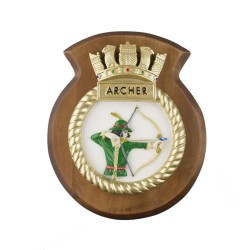 HMS Archer - Ship Badge / Crest / Plaque
