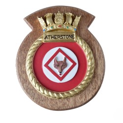 HMS Atherstone - Ship Badge / Crest / Plaque