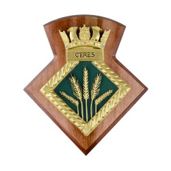 HMS Ceres Royal Naval Reserve - Unit Badge / Crest / Plaque