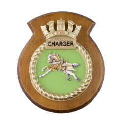 HMS Charger - Ship Badge / Crest / Plaque