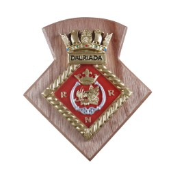 HMS Dalriada Royal Navy Reserve - Unit Badge / Crest / Plaque
