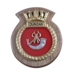 HMS Duncan - Ship Badge / Crest / Plaque