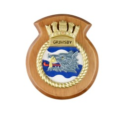 HMS Grimsby - Ship Badge/ Plaque / Crest