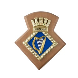 HMS Hibernia RNR - Unit Crest / Plaque / Badge