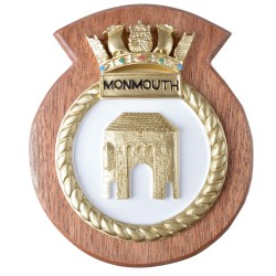 HMS Monmouth - Ship Badge / Plaque / Crest
