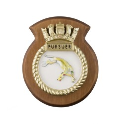 HMS Pursuer - Ship Badge / Plaque / Crest