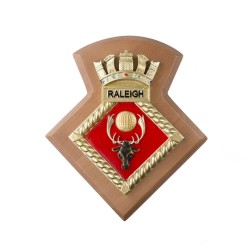 HMS Raleigh - Unit Badge / Crest / Plaque