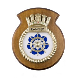 HMS Ranger - Ship Badge / Crest / Plaque