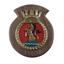 HMS Severn - Ship Badge / Plaque / Crest