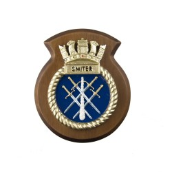 HMS Smiter - Ship Badge / Plaque / Crest