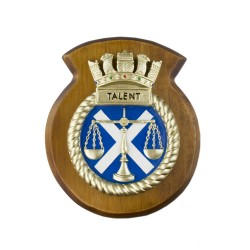 HMS Talent - Ship Badge / Crest / Plaque