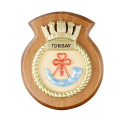 HMS Torbay - Ship Badge / Crest / Plaque