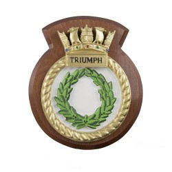HMS Triumph - Ship Badge / Crest / Plaque
