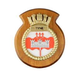 HMS Tyne - Ship Badge / Crest / Plaque