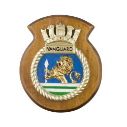 HMS Vanguard - Submarine Crest / Plaque / Badge