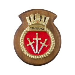 HMS Vengeance - Submarine Crest / Plaque / Badge