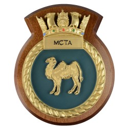 MCTA - Maritime Commissioning Trials and Assessments - Unit Badge / Plaque / Crest