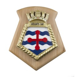 Mounts Bay - Royal Fleet Auxiliary - RFA - Ship Badge / Crest / Plaque