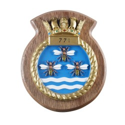 771 NAS - 771 Naval Air Squadron - Unit Badge / Crest / Plaque