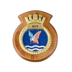 829 NAS - 829 Naval Air Squadron - Unit Badge / Crest / Plaque