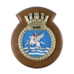 846 NAS - 846 Naval Air Squadron - Unit Badge / Crest / Plaque