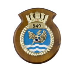 849 NAS - 849 Naval Air Squadron - Unit Badge / Crest / Plaque