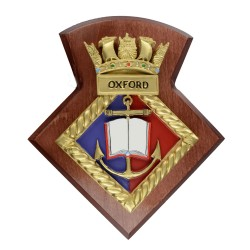 Oxford URNU - Crest / Plaque / Badge