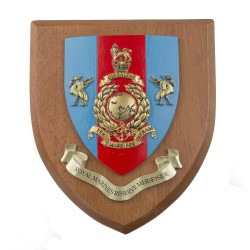 Royal Marines Reserve (RMR) Merseyside - Unit Badge / Crest / Plaque