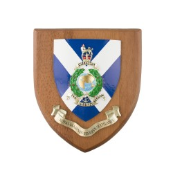 Royal Marines Reserve Scotland - Crest / Plaque / Badge