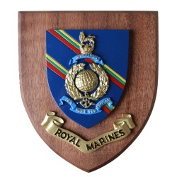Royal Marines  - Crest / Plaque / Badge