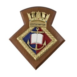 Southampton URNU - Southampton University Royal Naval Unit - Badge / Crest / Plaque