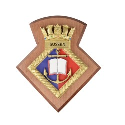 Sussex URNU - Sussex University Royal Naval Unit - Badge / Crest / Plaque