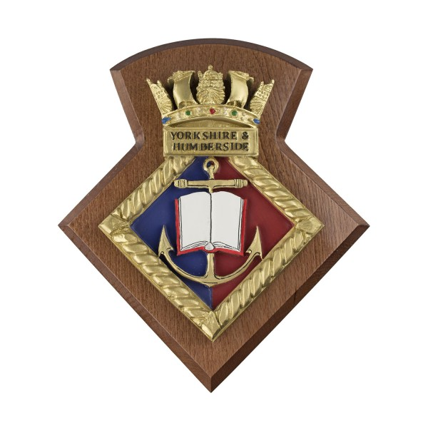 Yorkshire and Humberside URNU - Yorkshire and Humberside University Royal Naval Unit - Badge / Crest / Plaque